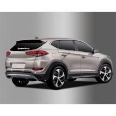 Hyundai Tucson (2015-) Накладка на задний дворник+окантовка парктроника 8шт