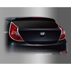 Hyundai Accent HB (2011-) Накладки на стопы 2шт