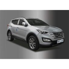 Hyundai Santa Fe (2012-) Окантовка фар 2шт