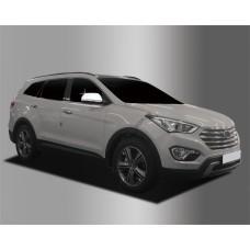 Hyundai Santa Fe (2015-) Накладки на зеркала с повторителем
