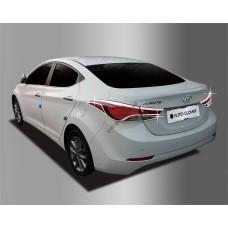 Hyundai Elantra (2012-2015) Накладки на стопы 2шт