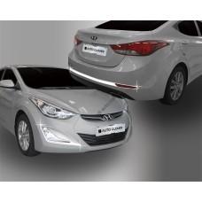 Hyundai Elantra (2013-) Окантовка противотуманок перед и зад