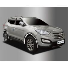 Hyundai Grand Santa Fe (2013-2014) Накладки колесных арок 8шт