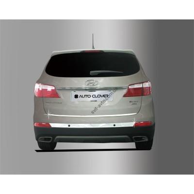 Hyundai Grand Santa Fe (2013-2014) Накладки на багажник 2шт - AC C760