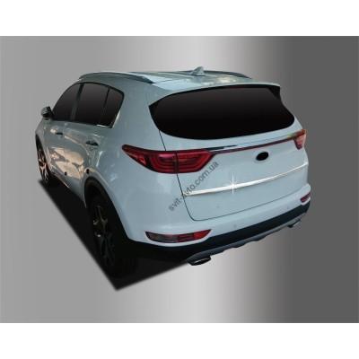 Kia Sportage (2015-) Накладка на крышку багажника 1шт - AC D785