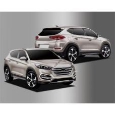 Hyundai Tucson (2015-) Окантовка противотуманок 2шт