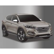 Hyundai Tucson (2015-) Накладки на зеркала с повторителем 4шт