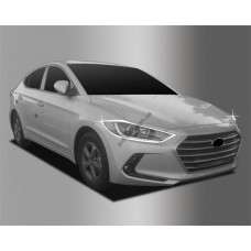 Hyundai Elantra (2015-) Окантовка фар 2шт