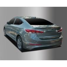 Hyundai Elantra (2015-) Накладки на стопы 2шт