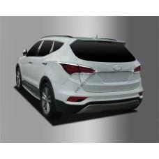 Hyundai Santa Fe (2015-) Накладки на стопы 4шт