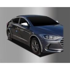 Hyundai Elantra (2015-) Накладки на зеркала с повторителями