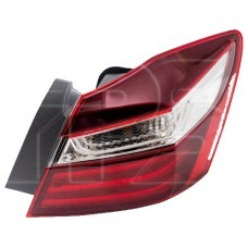 Ліхтар заднійЗадний фонарь внешний левый Honda Accord 9 седан 15-17 (Depo)