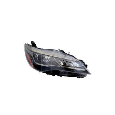 Фара передняя левая Toyota Camry XV55 14-17 USA (Depo) желтая вставка + LED - FP 7050 R7-E