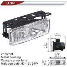 Фара додаткова  DLAA  996-W/H3-12V-55W/120*38mm