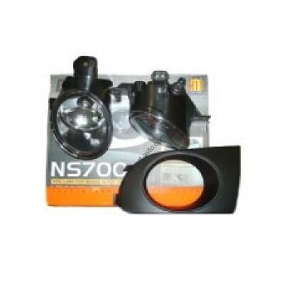 Противотуманные фары для Nissan Sunny 00-01 комплект (Dlaa) - NS-700