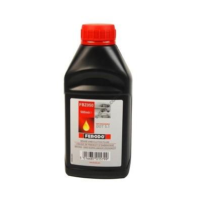 Рідина гальмівна DOT 5 0.5L, FERODO, FBZ050 - FBZ050