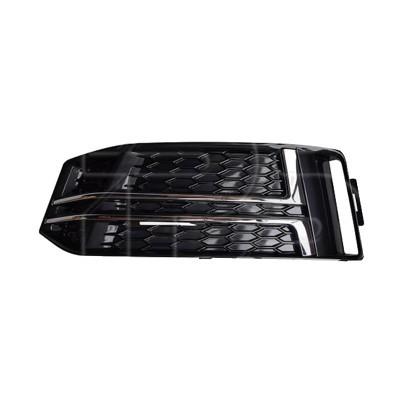 Решетка бампера левая (с хром молдингами) Audi A4 B9 16- S-Line (FPS) - FP 1227 911