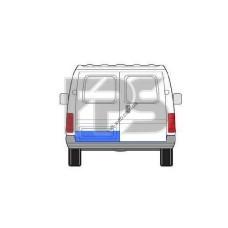 Ремчасть задней двери Ford Transit 92-00 малая левая - 20 см