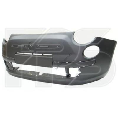 Передний бампер Fiat 500 07-12 (без отв. под п/троник) (FPS) - FP2612900