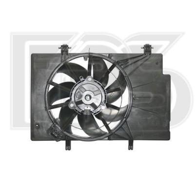 Вентилятор радиатора в сборе Ford Fiesta (Nissens) FP 28 W187-X - FP 28 W187-X