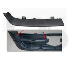 Решетка радиатора Honda CR-V 10-12 верхн. левая, черная (FPS) 71174SXSA11