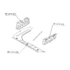 Защита двигателя пластиковая Hyundai Accent 06-10 - боковая правая - FP 3214 222 (FPS) 291201E000