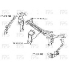 Окуляр передней панели Mercedes E-Class W211 02-06, правый (FPS)