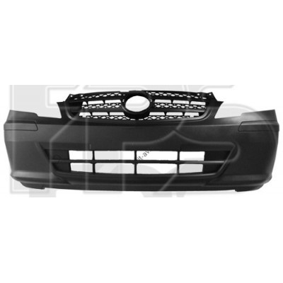 Передний бампер Mercedes Vito (10-14) серый, текстура (FPS) A63988069709B51 - FP 4619 900