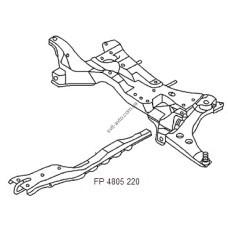 Балка подрамника для Mitsubishi Lancer 9 04-09 (FPS)