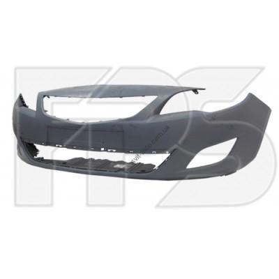 Передний бампер Opel Astra J 09-12 (без отв. п/троника / омывателя) (FPS) 1400426 - FP5216900