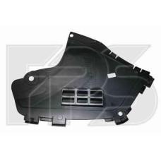 Защита бампера передняя Renault Logan 04-12, правая (FPS) 6001549323
