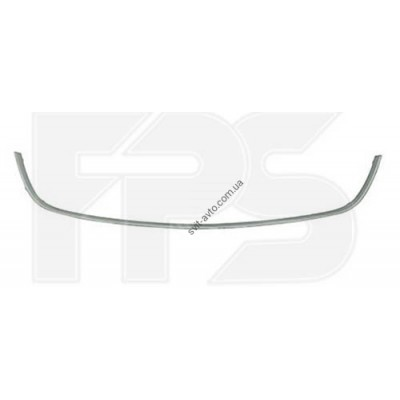 Молдинг решетки в бампере Renault Megane 09-14 средний, хром (FPS) 620723901R - FP 5619 917