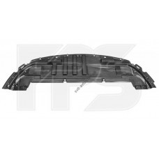 Защита бампера пластиковая Renault Clio 09-12 (FPS)