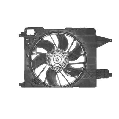 Вентилятор в сборе Renault Kangoo / Megane (NRF) FP 56 W363 - FP 56 W363