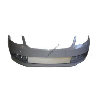 Бампер передний Skoda Octavia A7 13- без решетки (FPS) Китай 5E0807217 - FP6415901P