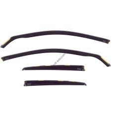 Дефлекторы окон (ветровики) Audi A4 (B6) 2001-2005 4D / вставные, 4шт/ Sedan
