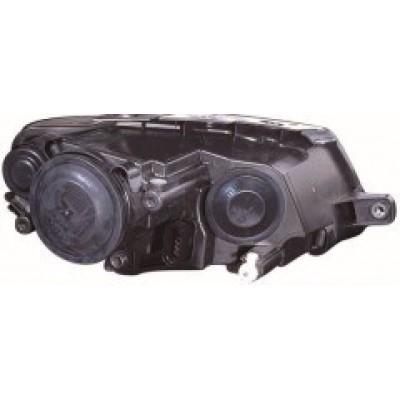 Фара VW Passat B6 05-10 правая (HELLA) хром электрич. 3C0941006AA - FP 7407 R2-H