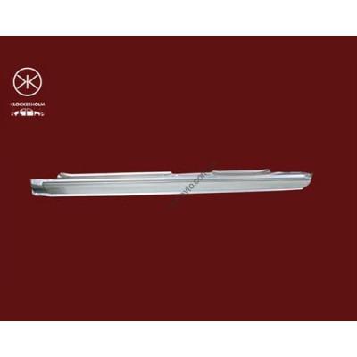 Порог Ford Mondeo -96, 97-00 седан/лифтбек, цинк, правый (Klokkerholm) - FP 2553 012
