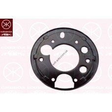 Защита заднего тормозного диска левая Mercedes-Benz Sprinter 95-06 (Klokkerholm)