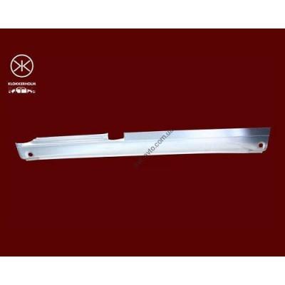 Порог для Mercedes Vito 638 (96-03) правый полный (KLOKKERHOLM) - KH3541 002