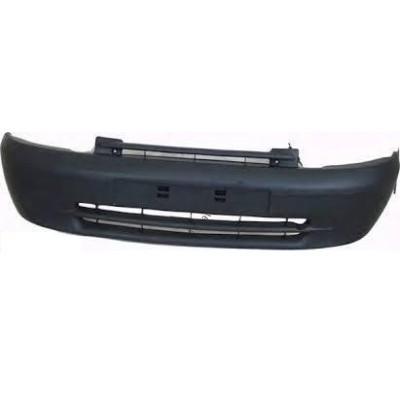 Передний бампер Renault Kangoo 97-03 черный с наполниетем (KLOKKERHOLM) 7701694499 - KH6010 900