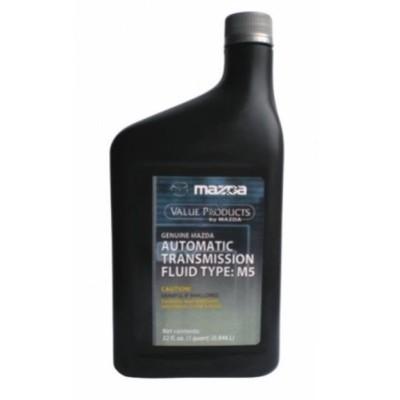 Масло трансмиссионное АКПП Mazda ATF M-5, 1л , MAZDA, 000077112E01 - 000077-112E01