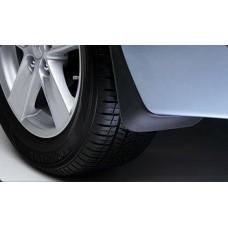 Брызговики задние для Mitsubishi Lancer X 2007- без обвеса 2шт MZ380401EX