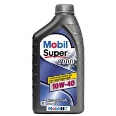 Масло моторное полусинтетическое Super 2000 X1 10W-40, 1л, MOBIL, 152569