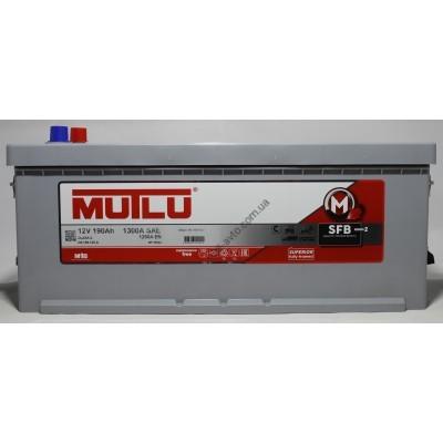 Акумуляторная батарея MUTLU HD-HEAVY DUTY 190 Ah 1300A  513 х 223 х 223 - 1D5.190.125.B