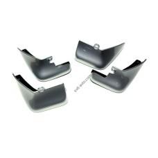 Брызговики полный комплект для Nissan LEAF 2010- GUN METALLIC оригинальные 4шт F38E09RA1A