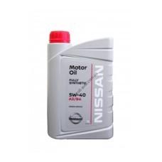 Масло моторное синтетическое Nissan Motor Oil 5W-40, 1 л, NISSAN, KE90090032