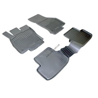 Коврики в салон Seat Leon (5F1) 5дв (12-) (полиур., компл - 4шт) - NPA11-C80-360