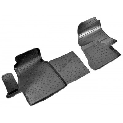 Коврики в салон Mercedes Sprinter (00-06) (полиуретан) передки - NPL-PO-56-70