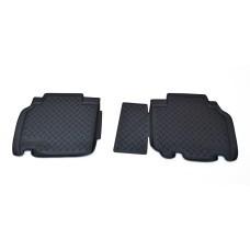 Коврики в салон Renault Kangoo (10-) (полиуретан) задние